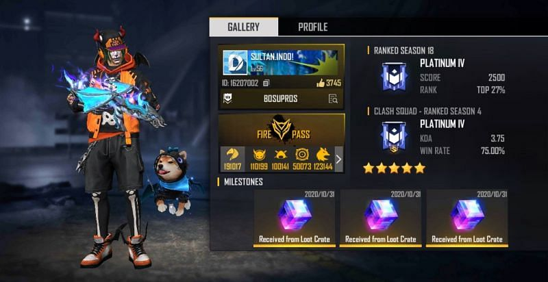 Sultan Proslo Real Name Country Free Fire Id Stats And More
