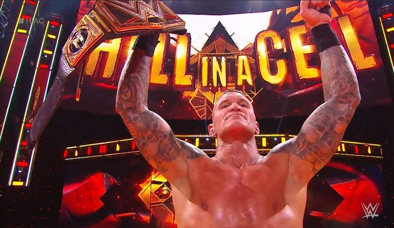 Randy Orton is now a Legend (Image courtesy: WWE)
