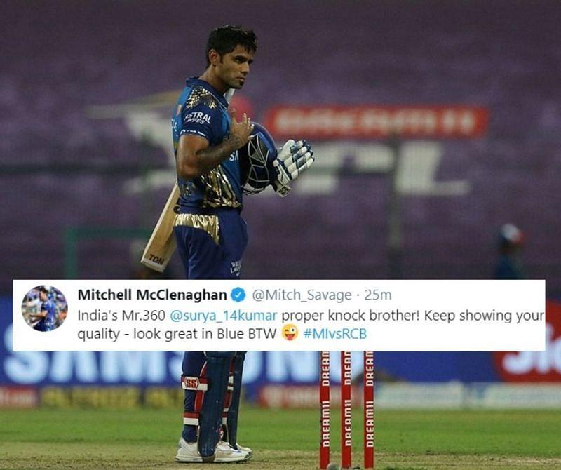 An unbeaten 79 from Suryakumar Yadav helped MI beat RCB by 5 wickets in IPl 2020.