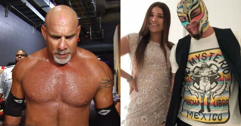 Goldberg, Aalyah, and Rey Mysterio.