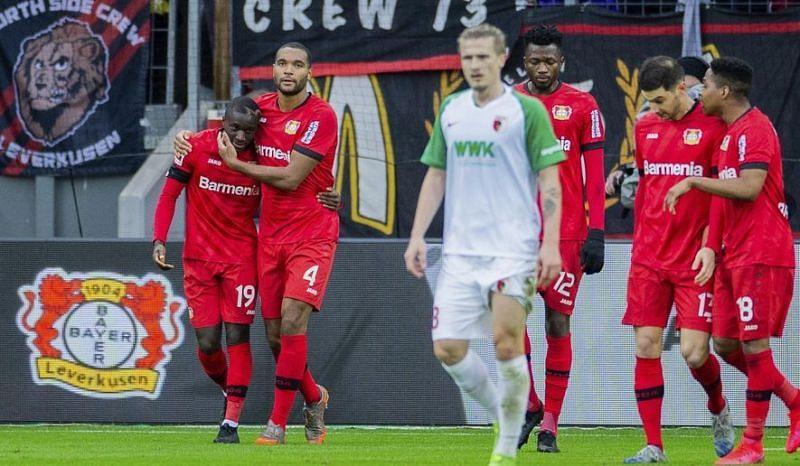 Augsburg have been one of Bayer Leverkusen