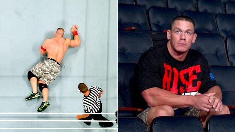 John Cena has had to cope with negative WWE chants