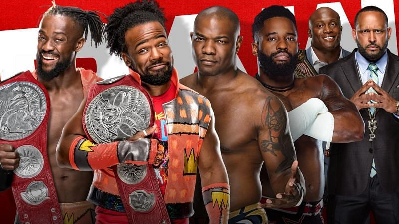 The New Day vs. The Hurt Business.