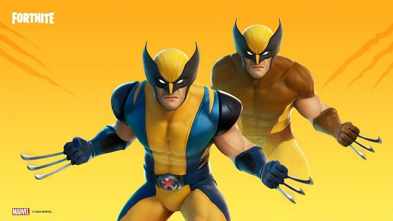 Wolverine is the newest superhero cosmetic to be added in the game (Image credits: Fortnite)