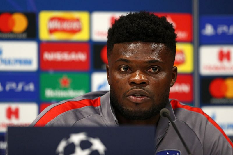 Arsenal completed the signing of Atletico Madrid midfielder Thomas Partey on deadline day.