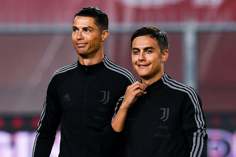 Juventus stars Ronaldo and Dybala