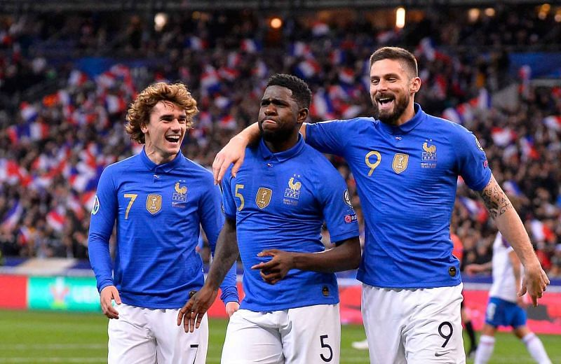 France and Ukraine face each other in an international friendly on Wednesday night