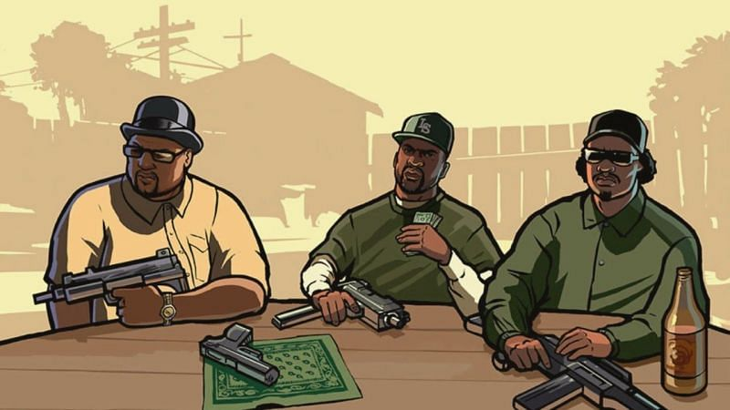 GTA San Andreas is still celebrated as one of the best GTA games in the history of the franchise (Image Credits: Pinterest)