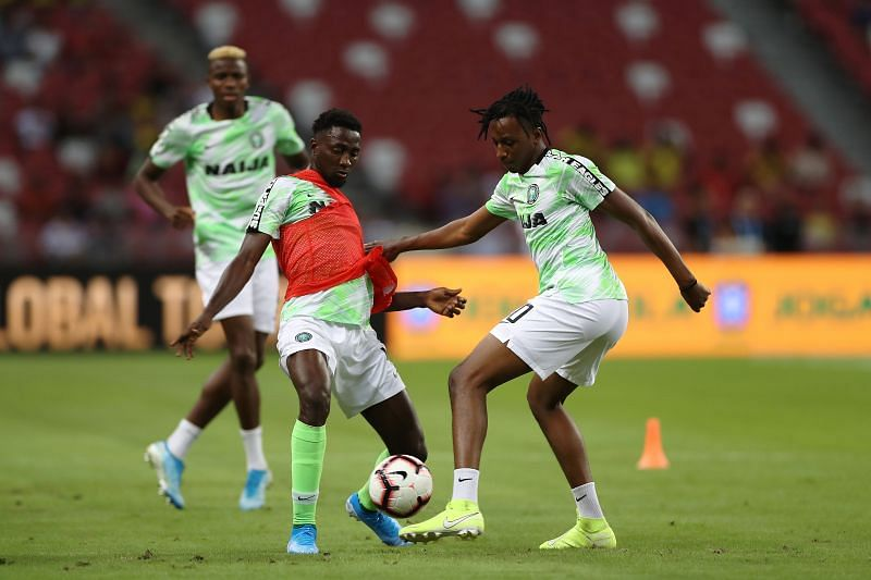 Nigeria will take on Tunisia in a high-profile African friendly match