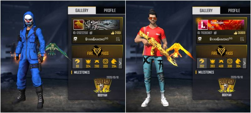 Raistar vs Gyansujan: Who has better stats in Free Fire?
