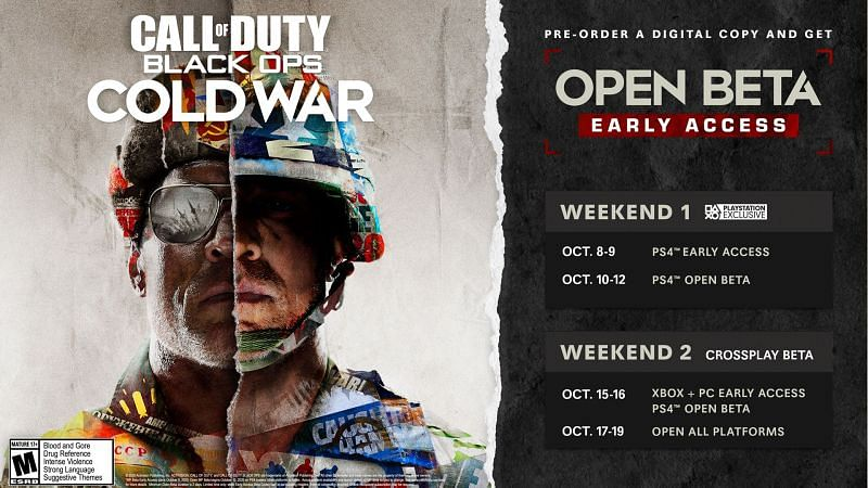 Activision is finally making the Beta for Call of Duty Black Ops: Cold War available over the weekend (Image Credits: Activision blog)