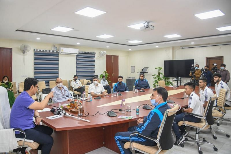Kiren Rijiju appreciated the work done by the Ministry and the Judo Federation in recent years