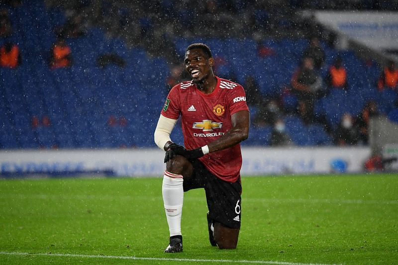 Paul Pogba has been at Manchester United since 2016
