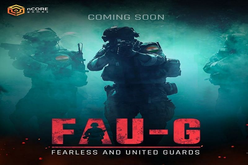 The poster of Fearless and United Guards (FAU-G)