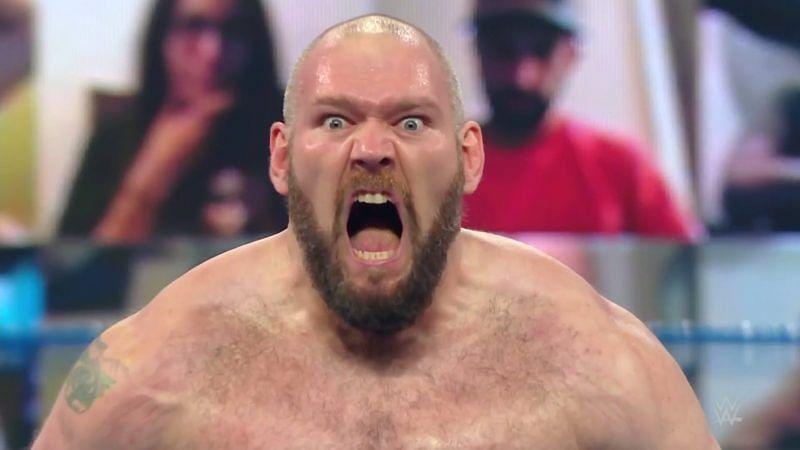 Lars Sullivan returned to SmackDown