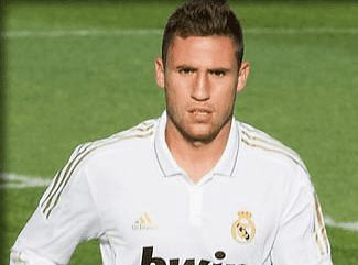 Ivan Gonzalez at Real Madrid CF