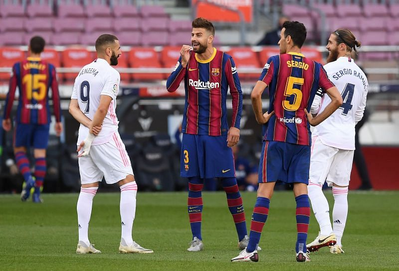 Barcelona were unable to defeat Real Madrid