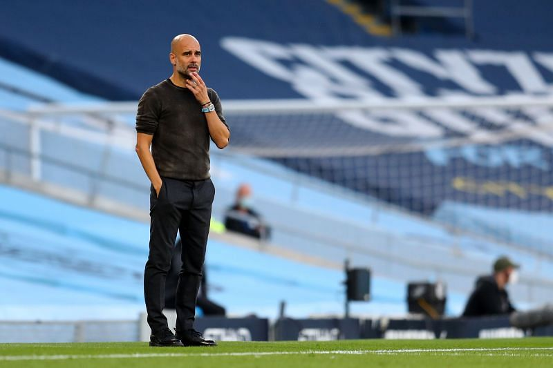 Manchester City boss Pep Guardiola faces an injury crisis