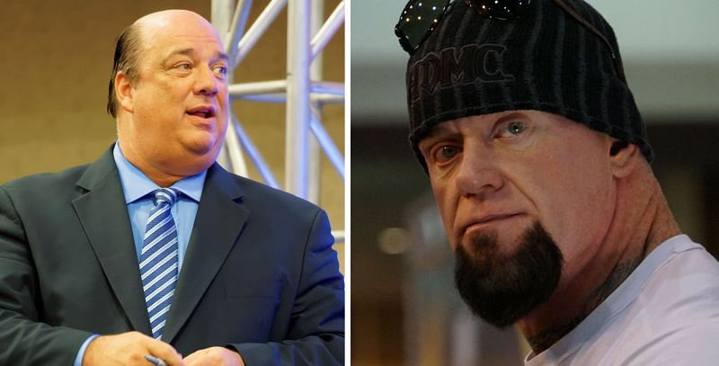 Paul Heyman and The Undertaker