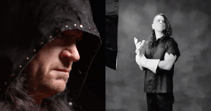 The Undertaker and Shinsuke Nakamura.