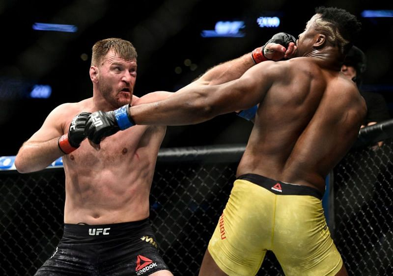 Stipe Miocic vs. Francis Ngannou II reportedly being planned for UFC 256