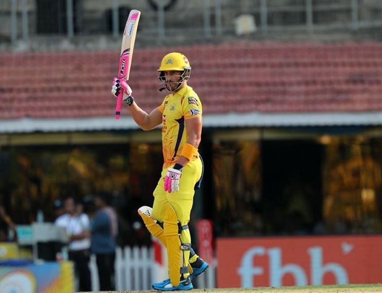 Du Plessis has been CSK