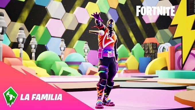 Fortnite #FNLaFamilia - Image Credits - Epic Games