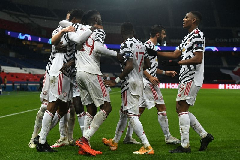 Manchester United beat PSG 2-1 in the Champions League
