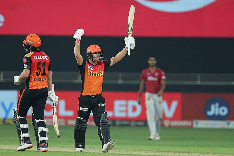 David Warner and Jonny Bairstow proved to be KXIP