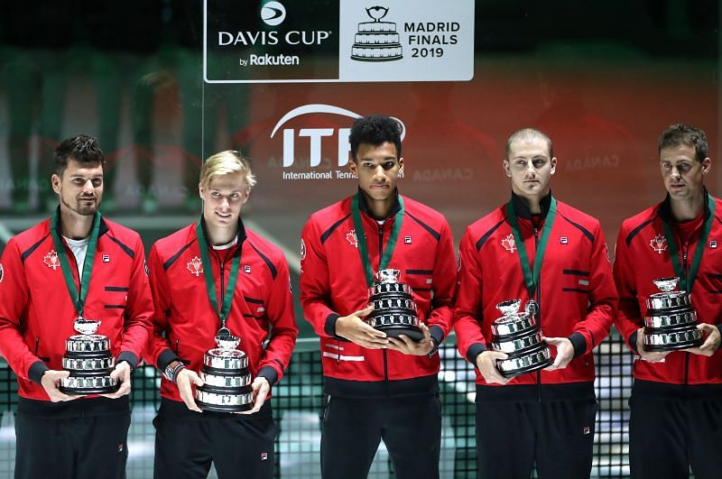 Felix Auger-Aliassime and Vasek Pospisil have represented Canada together