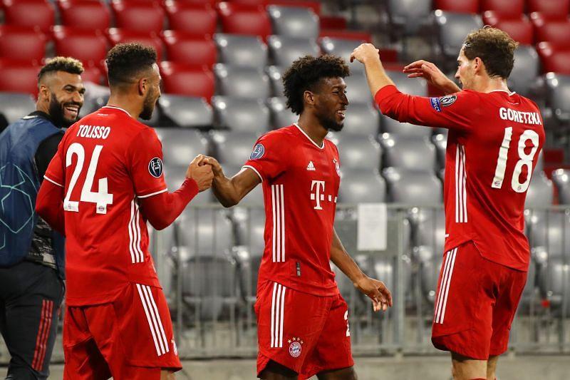 Bayern Munich take on Lokomotiv Moscow this week