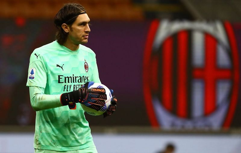 AC Milan conceded three goals today