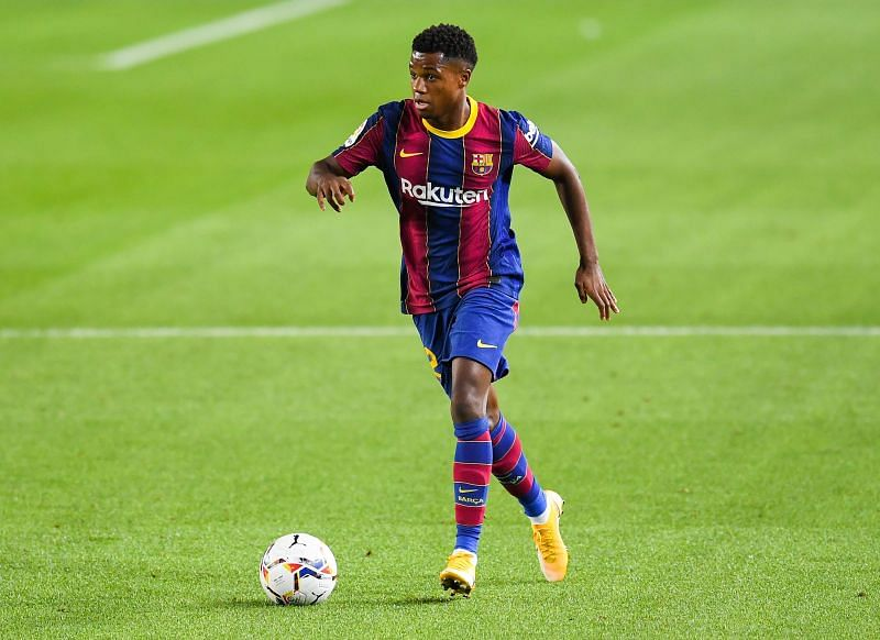 Fati has impressed at Barcelona