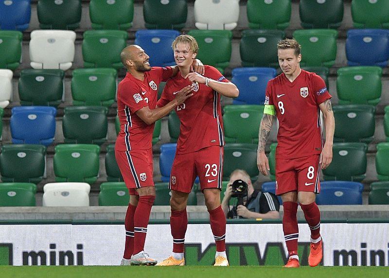 Norway take on Romania this week