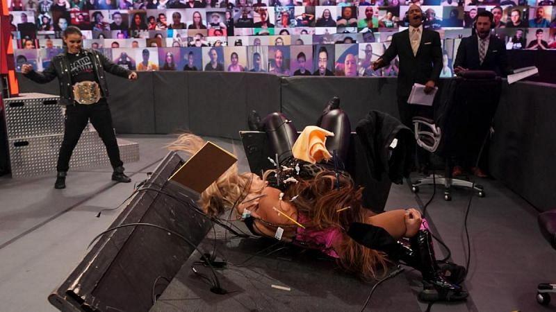 इस हफ्ते Raw का एपिसोड काफी ज्यादा जबरदस्त रहा