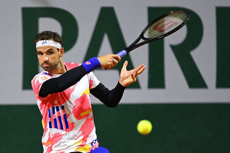 Grigor Dimitrov has never made it past this stage at the French Open.