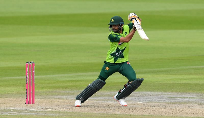 Babar Azam scored 77 runs in 2 T20Is against England in August this year.