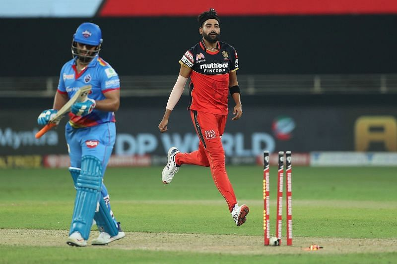 Mohammed Siraj bowled really well against DC. (Image Credits: IPLT20.com)