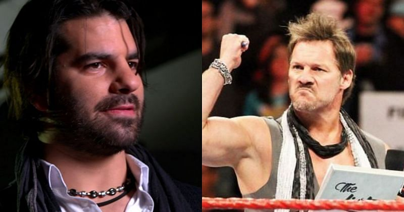 Jimmy Jacobs and Chris Jericho.