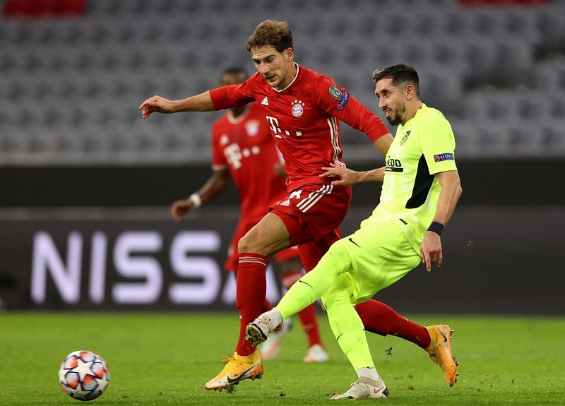 Goretzka made his presence felt against Atletico, without needing to defend for sustained periods