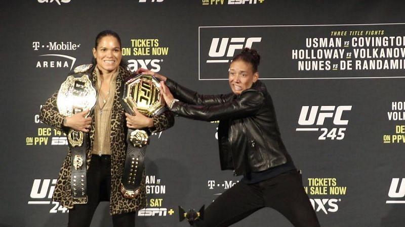 Amanda Nunes and Germaine de Randamie are both regarded as highly skilled KO artists
