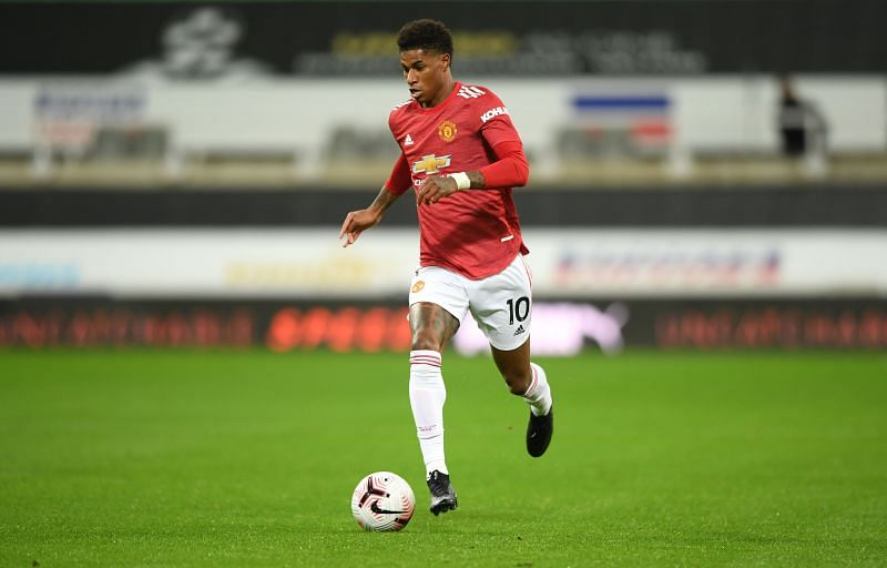Marcus Rashford is a regular for Manchester United.