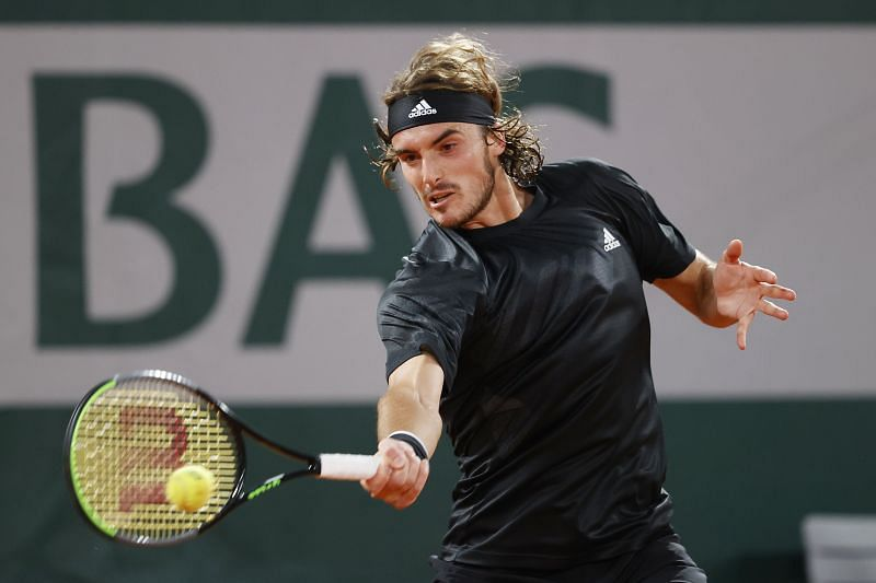20Tsitsipas scored a tricky three set win over Dimitrov in Paris earlier this year.