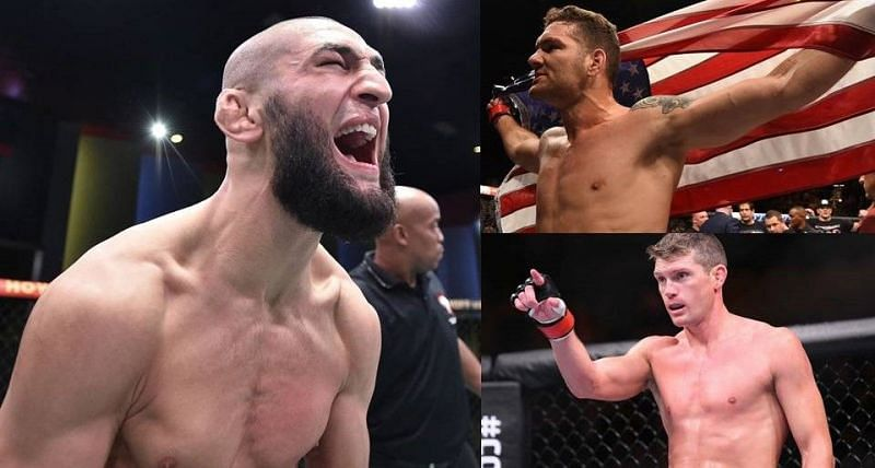 Khamzat Chimaev is willing to fight Chris Weidman and Stephen Thompson