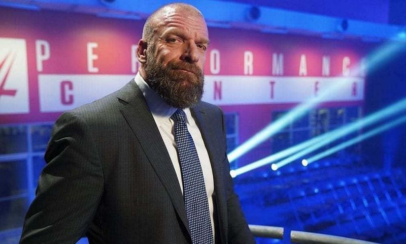 Triple H at the Performance Center