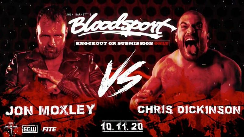 Moxley in the zone (Pic Source: Bloodsport)