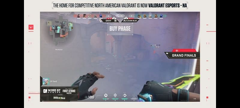 Valorant First Strike North America - NSG Tournament Finals live action