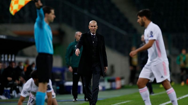Real Madrid were held to a 2-2 draw by Borussia Monchengladbach