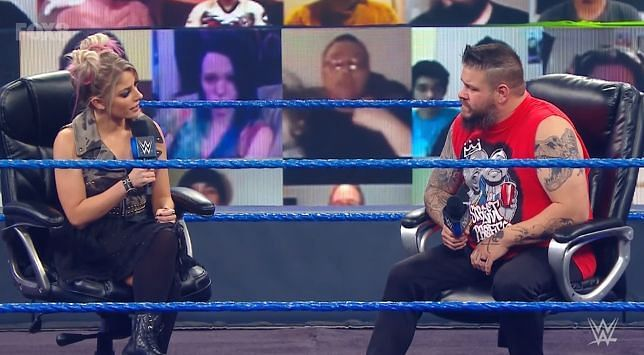Alexa Bliss' role with The Fiend possibly revealed after encounter with Kevin Owens on SmackDown