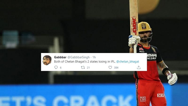 Virat Kohli starred in a 37-run win for RCB